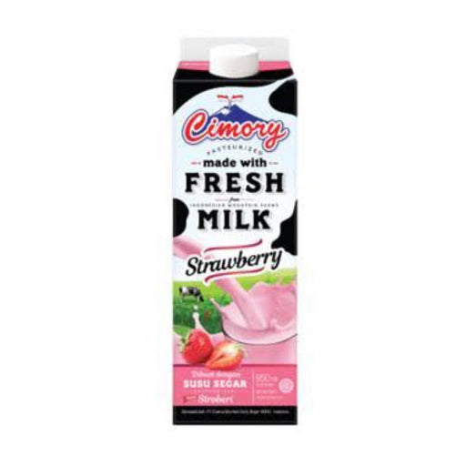 Cimory Fresh Milk Strawberry 950ml - Tuquh