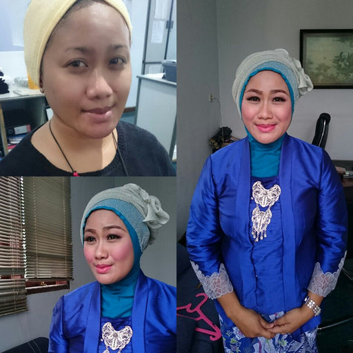 Makeup party-wisuda + hijab style - Tuquh