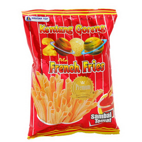 Ciki French Fries 2000 (Kentang Goreng) 75 gram - Tuquh