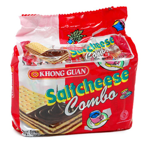 Biskuit Khong Guan Salt Cheese Combo 17 Grx10 - Tuquh