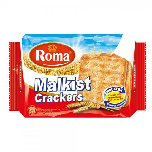 Roma Malkist Crackers Gula 150 Gr - Tuquh