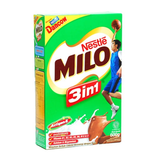 Susu Milo 3in1 Box 600 gram - Tuquh