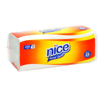 Tissue Nice Facial Soft Pack Yellow 250's - Tuquh