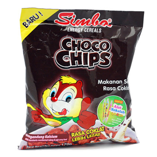 Simba Choco Chips 170gr - Tuquh
