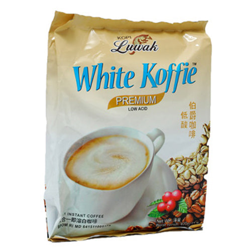 Luwak White Coffee 20X20gr - Tuquh