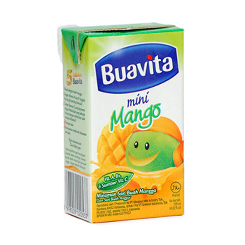 Buavita Mini Mangga 125ml Per pak ( 5 pieces ) - Tuquh