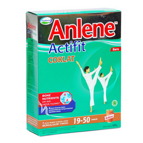 Susu Anlene Actifit Coklat Reduced Fat High Calcium 600 gr - Tuquh