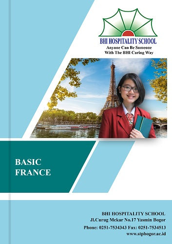 Buku Cetak BHI Basic France - Tuquh