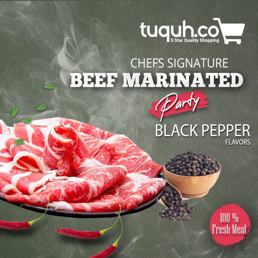 Beef Blackpepper - Tuquh