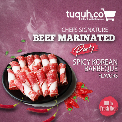 Beef Spicy Korean Barbeque - Tuquh