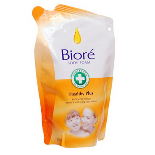 Sabun Biore HEALTHY PLUS 250ml (pouch) - Tuquh
