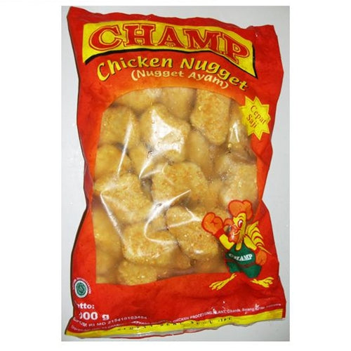 Champ Chicken Nugget 500 gram - Tuquh