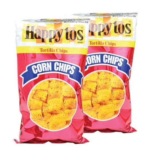 Ciki Happy Tos Realcorn Chips Merah 160g - Tuquh