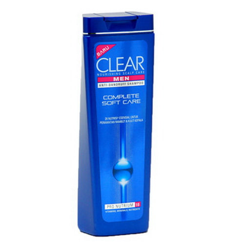 Shampoo Clear Mens Complete Soft Care 340 ml - Tuquh