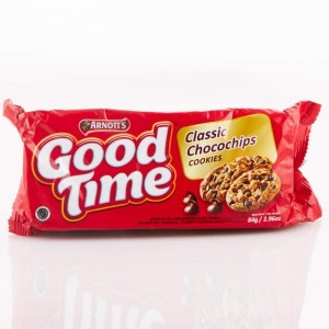 Good Time Cookies Classic Chocochips 80 gram - Tuquh
