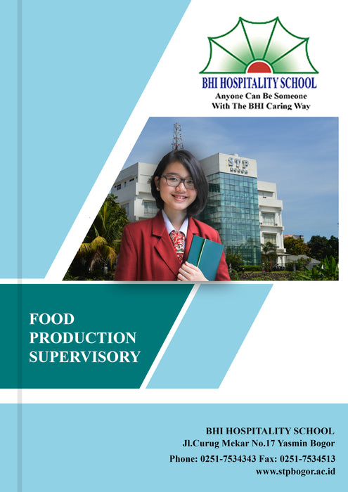 Food Production Supervisory - Tuquh
