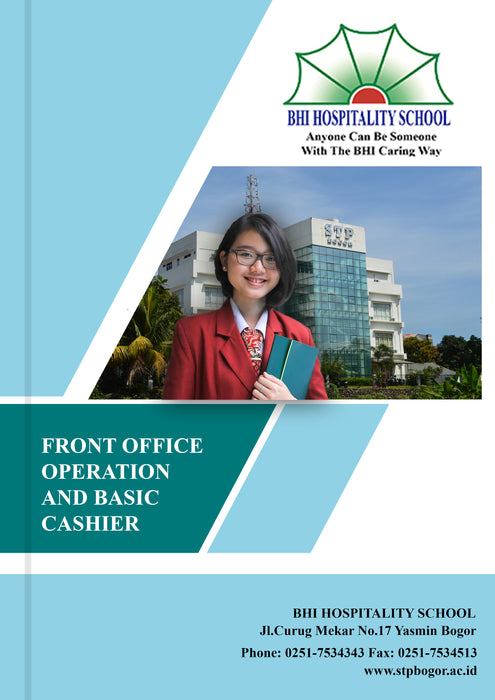 Front Office Operation and Basic Cashier - Tuquh