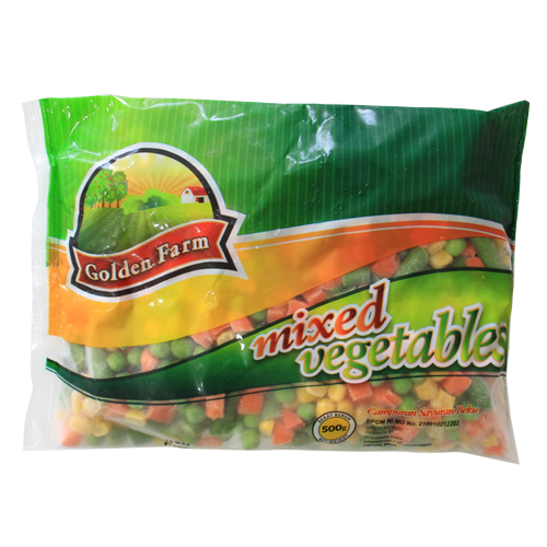 Golden Farm Mix Vegetables 500gr - Tuquh