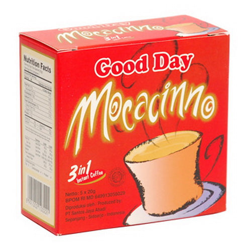 Kopi Good Day Mocacinno 5x20 gr - Tuquh