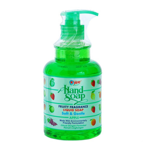 Sabun Cuci Tangan Yuri Apple 410 ml (pump) - Tuquh