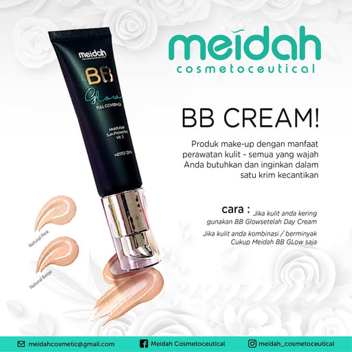 Meidah BB Glow Full Coverage - Tuquh