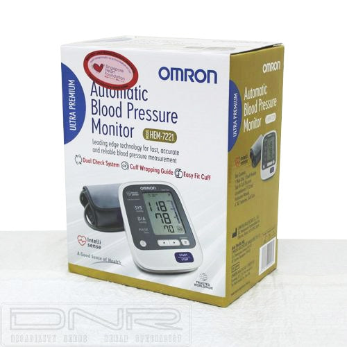 Omron Automatic Blood Pressure Monitor Hem 7221 - Tuquh