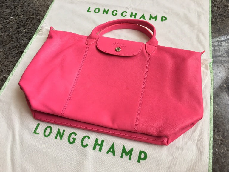 Longchamp Soft Leather With Long Strap - Tuquh