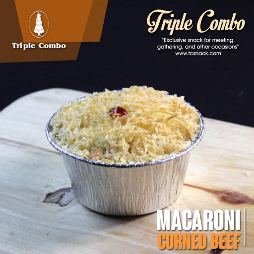 Macaroni Schotel Corned Beef Reguler 125ml TC-B001 R - Tuquh