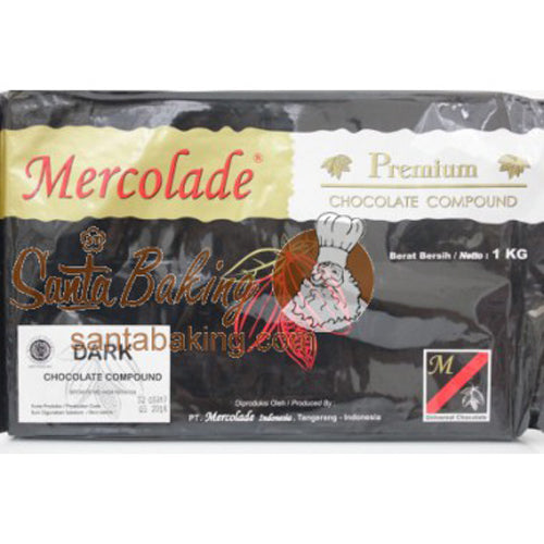 Mercolade Dark Compound 1 kg - Tuquh