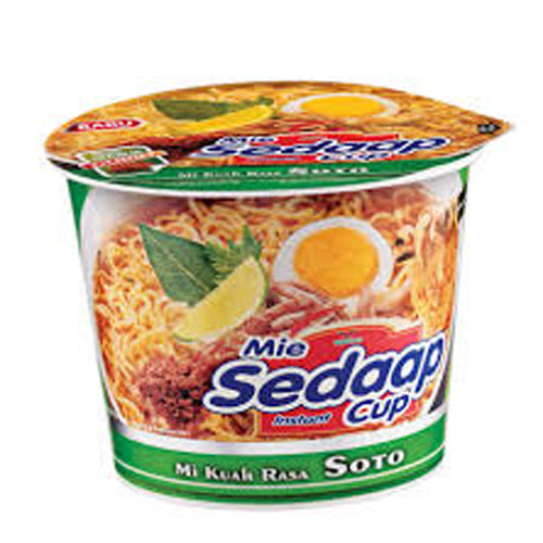 Mie Sedaap Cup Rasa Soto Per pak ( 5 pieces ) - Tuquh