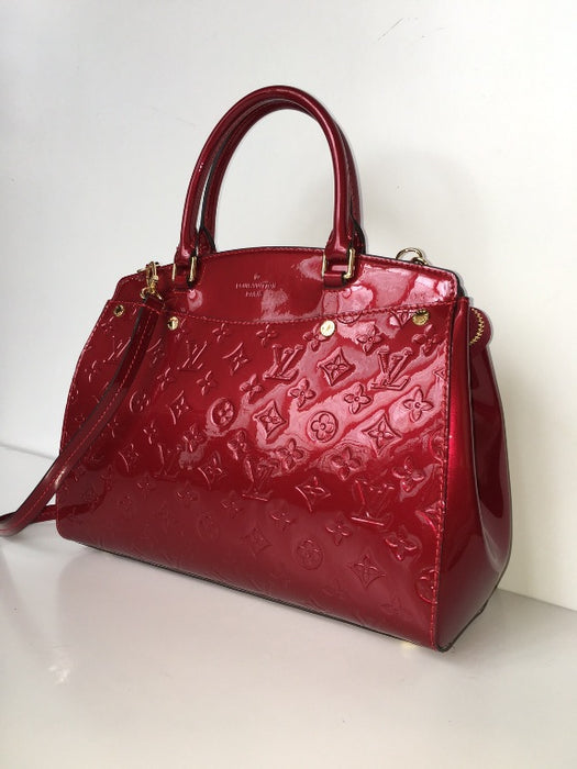 Louis Vuitton Brea Vernis Embossed With Long Strap - Tuquh
