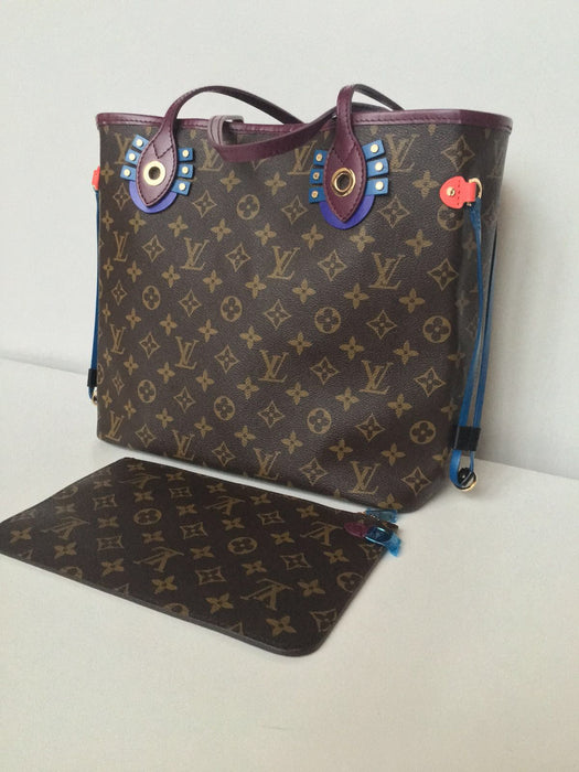 Louis Vuitton Neferfull Ornament Limited Edition MM With Extra Pouch - Tuquh