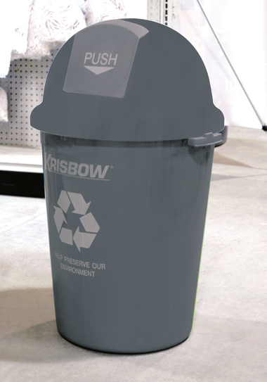 Plastic Dust Bin KW18-119 - Tuquh