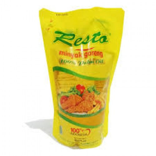 Minyak Goreng Resto 900ml Pouch - Tuquh