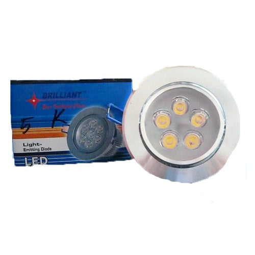 Lampu LED Halogen Brilliant DL 5 MT WW ( Warna Warm White ) - Tuquh