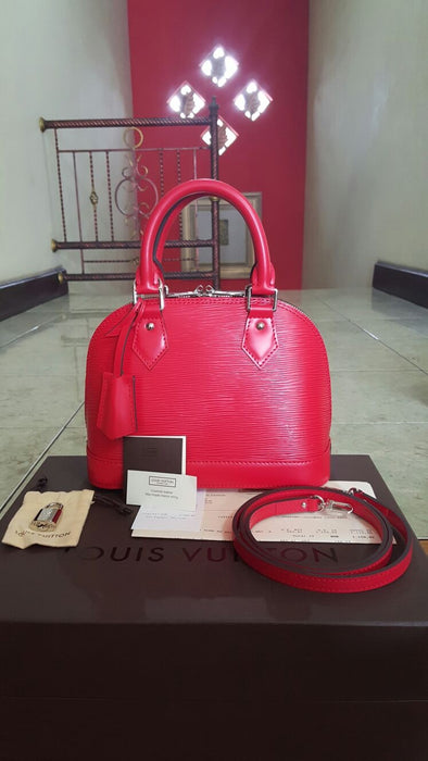 New LV Alma BB Epi Red - Tuquh