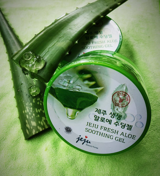 Jeju Fresh Aloe Soothing Gel - Tuquh