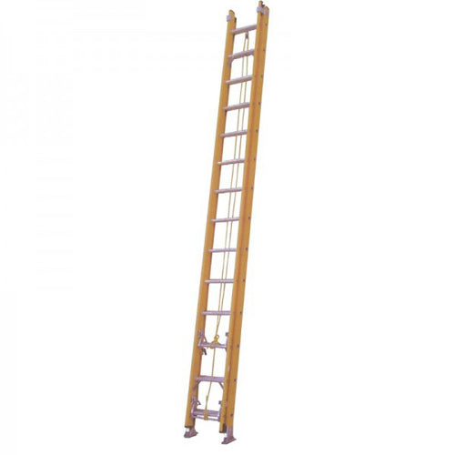 Yellow Fiberglass Extension Ladder KW01-3426 - Tuquh