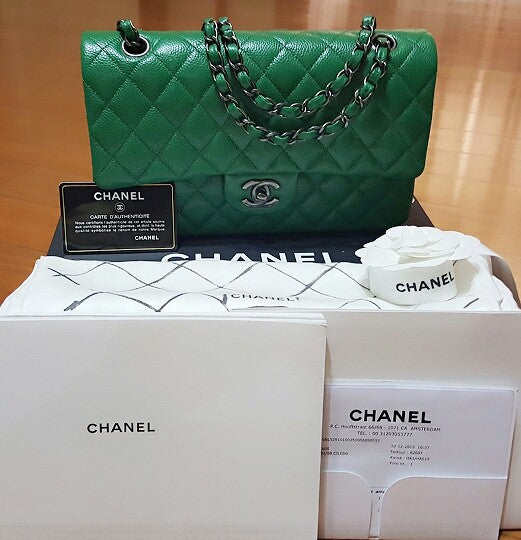 BNIB Chanel Green Bag - Tuquh
