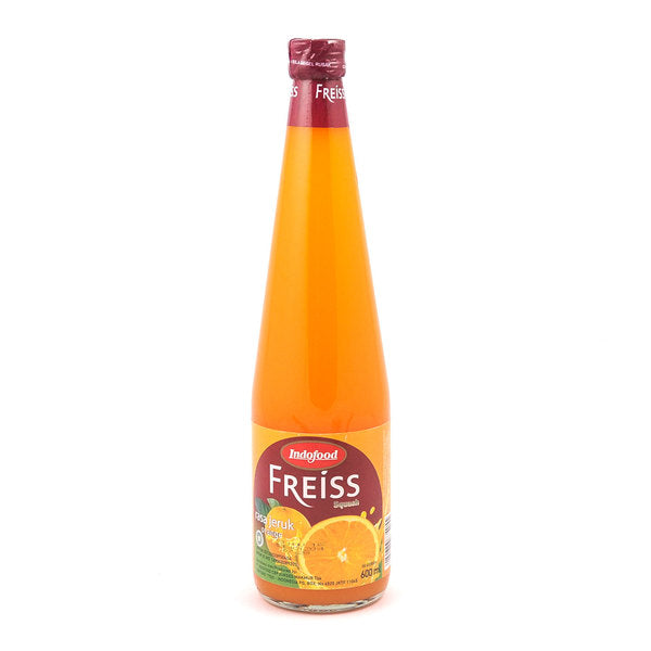 Sirup Indofood Freiss Squash Orange 600ml - Tuquh