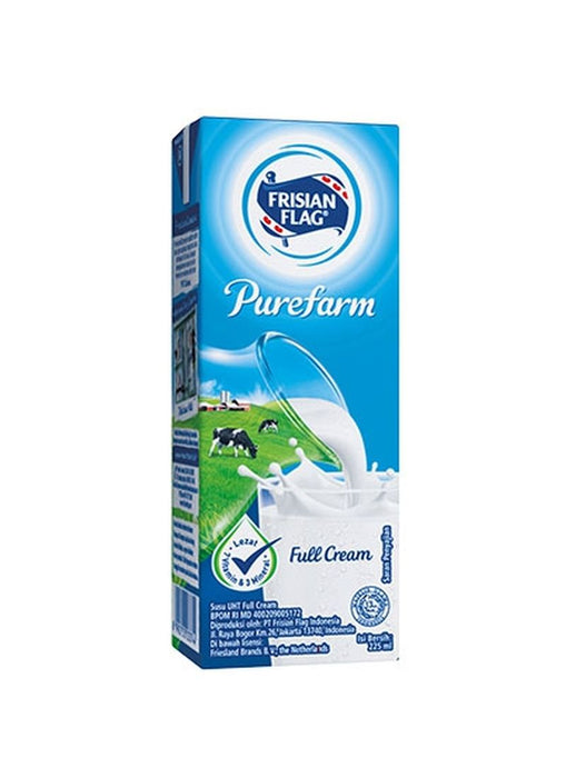 Susu Frisian Flag Full Cream 250 ml Per pak ( 5 pieces ) - Tuquh