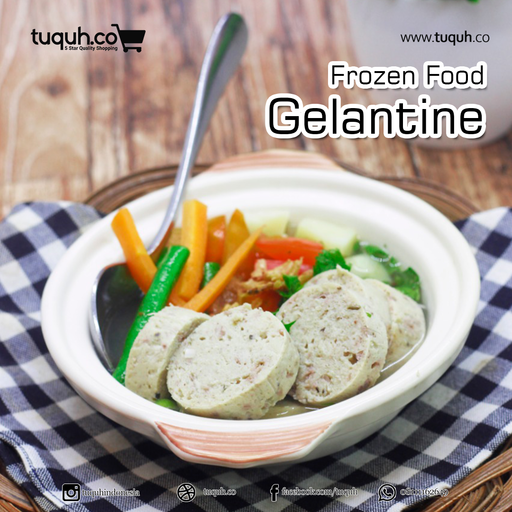 Chicken Gelantine Frozen - Tuquh