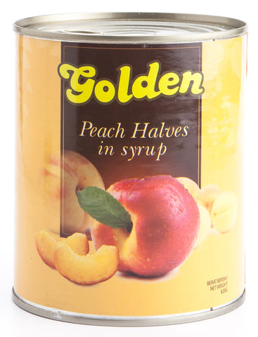 Golden Peach Halves In Syrup 825gr - Tuquh