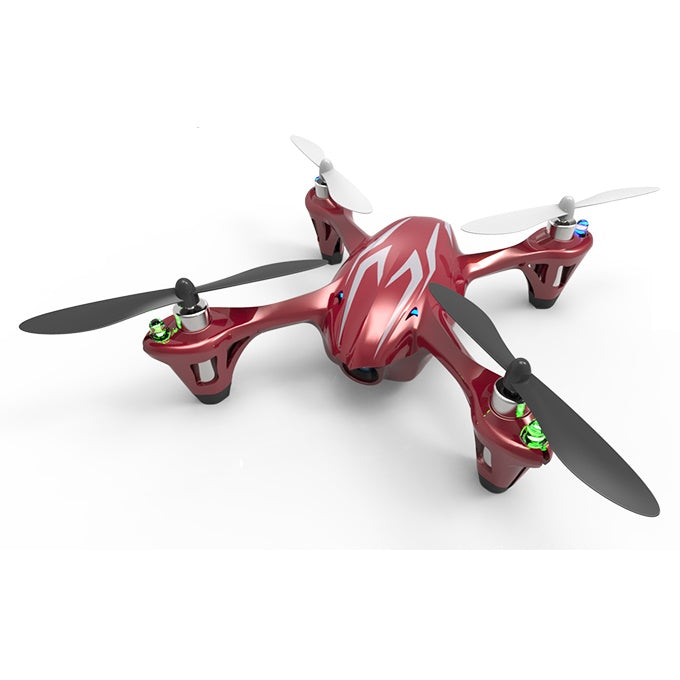 Hubsan FPV X4 Mini Drone Quadcopter with Camera - H107C - Red - Tuquh
