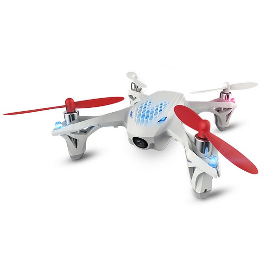 Hubsan FPV X4 Mini Drone Quadcopter with Camera - H107D - White - Tuquh