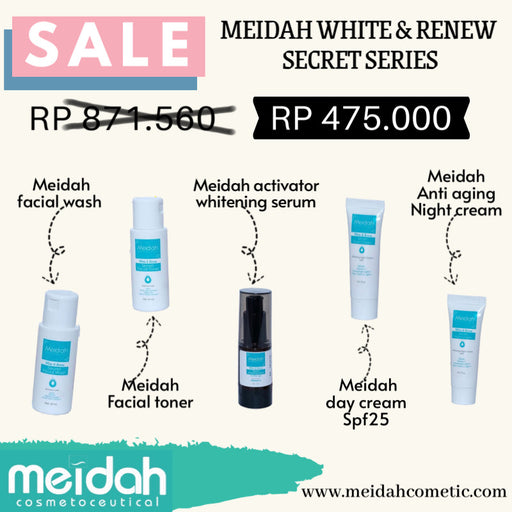 Meidah White & Renew Secret Series - Tuquh