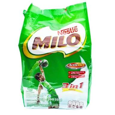 Susu Milo 3in1 20x35g - Tuquh