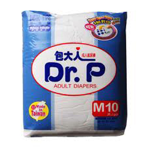 Dr. P Adult Diapers M10 - Tuquh