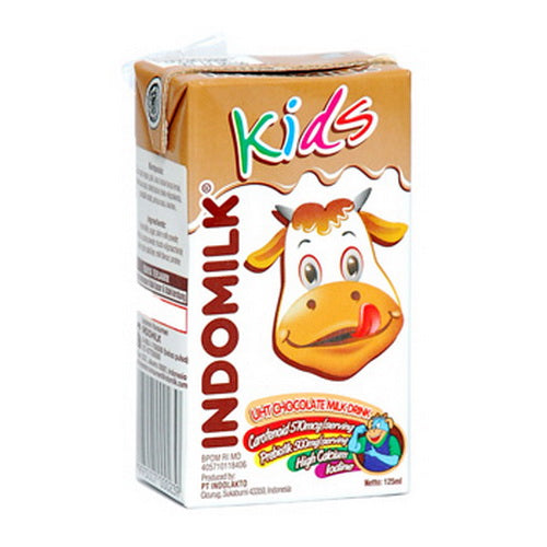 Susu Indomilk Kids Coklat 125 ml Per pak ( 5 pieces ) - Tuquh