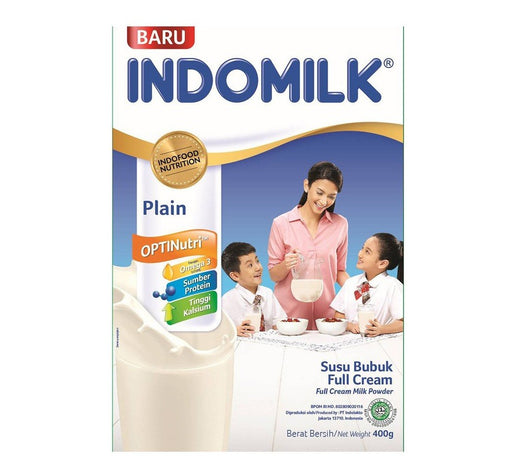 Susu Indomilk Full Cream 400gr - Tuquh